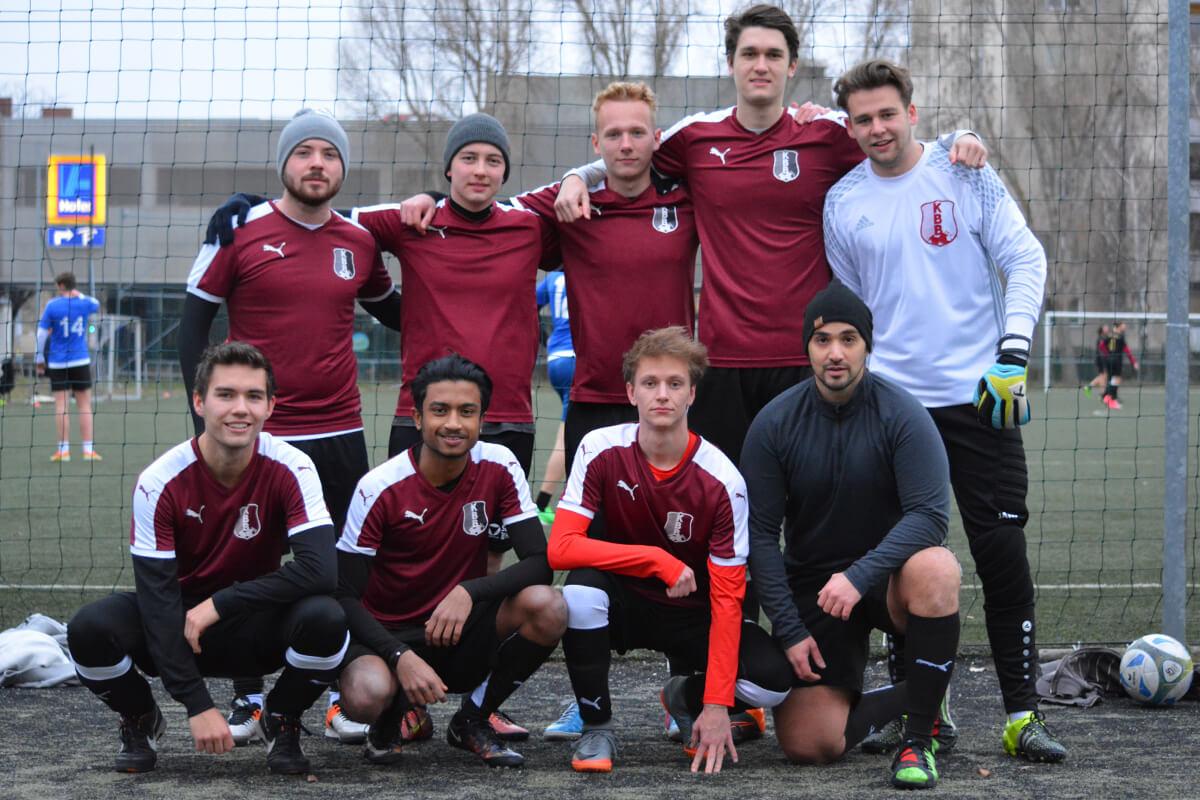 Mannschaftsfoto - Kickerbockerbande 2018 - Kleinfeldliga West
